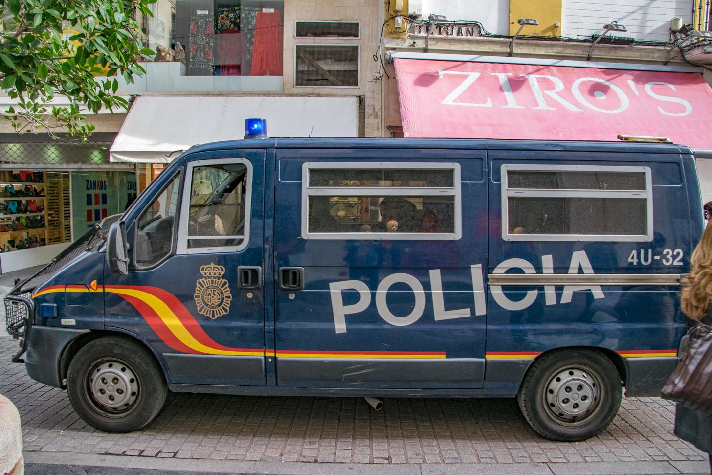 veiligheid in Sevilla