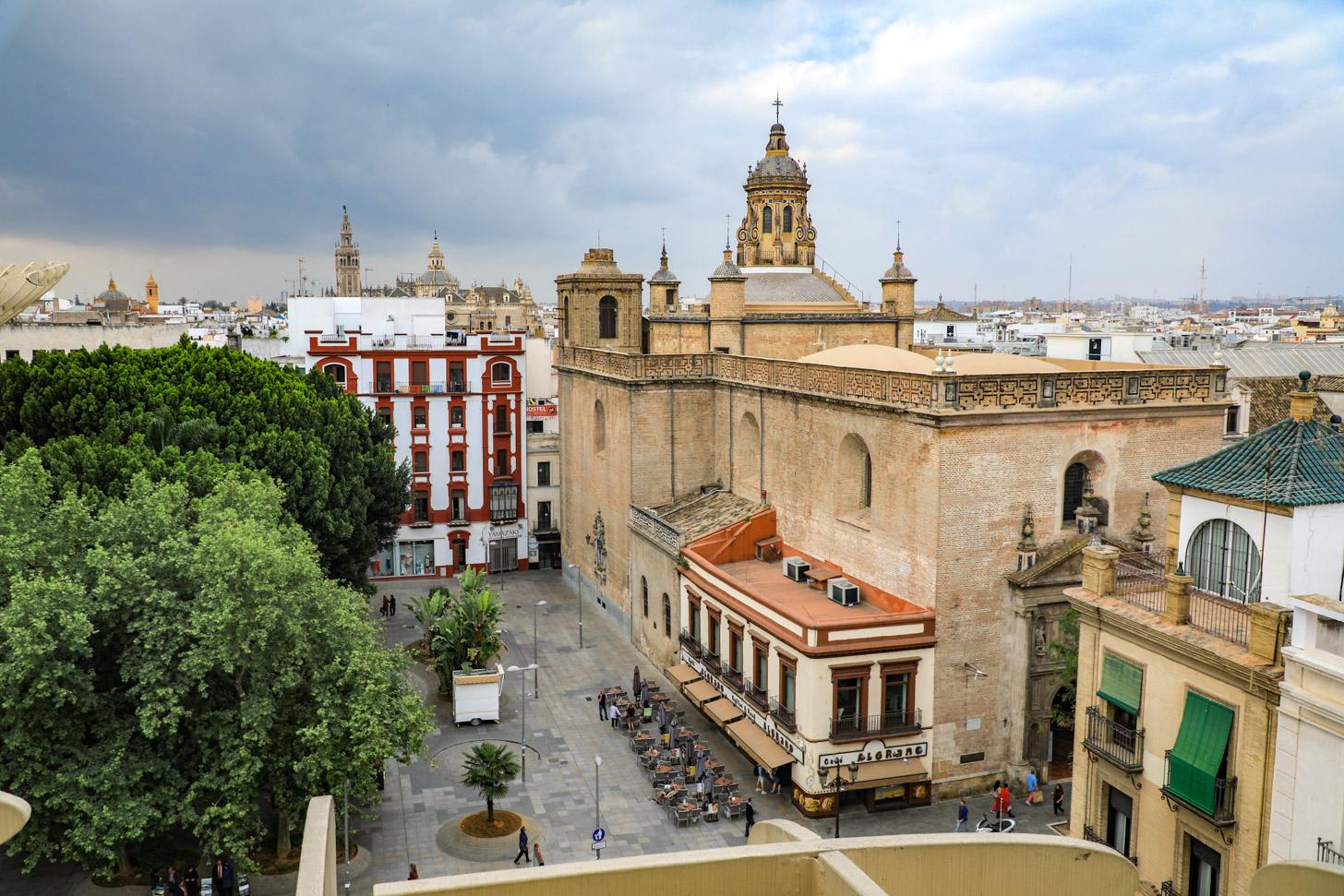 Wolken boven Sevilla