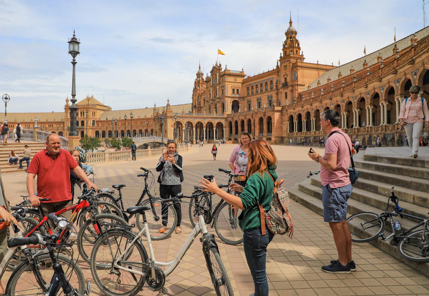 Ontdek Sevilla tijdens een fietstocht
