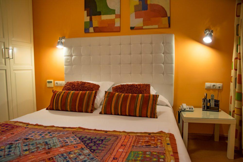 leuke hotelkamer in Sevilla